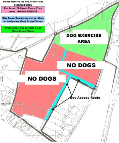 Dog restriction diagram