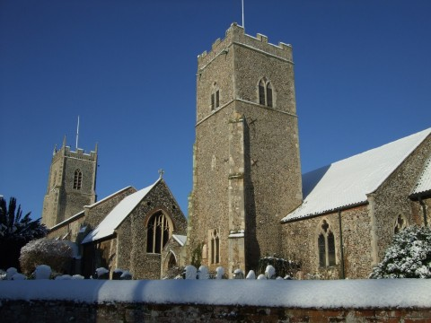 The remaining two churches of Reepham