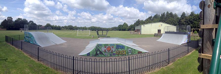 Stimpson's Piece Skate Park