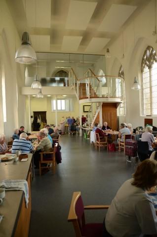 Inside St Michael's Church, Reepham