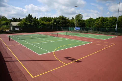Tennis Courts, Reepham