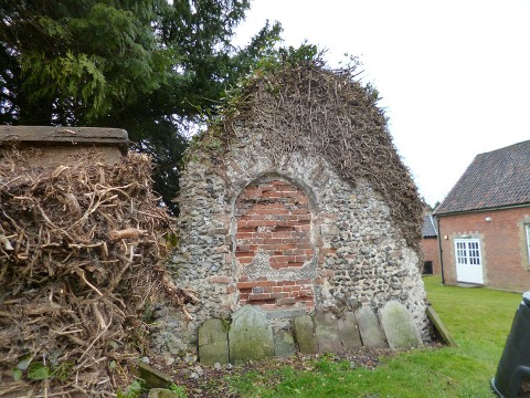 Remains of the Third Church at Reepham